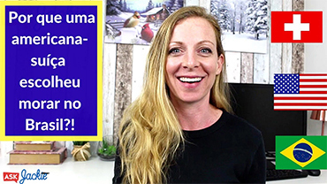Por que uma americana-suíça escolheu morar no Brasil?