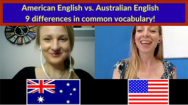 American English vs. Australian English – 9 differences in common vocabulary!