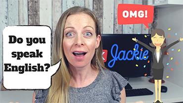 Do you speak English? Se você está na dúvida, assista este vídeo. :)