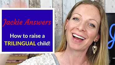 "Jackie Answers: ""How to raise a TRILINGUAL child!"" (English subtitles)"