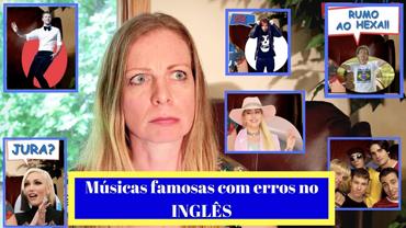 Justin Timberlake, Mick Jagger, Ed Sheeran, etc ERRANDO em inglês?