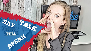 "Não diga ""Let's talk English!"" – Como usar Speak, Talk, Tell e Say?"