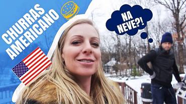 Churras americano na neve?! – VLOG 01