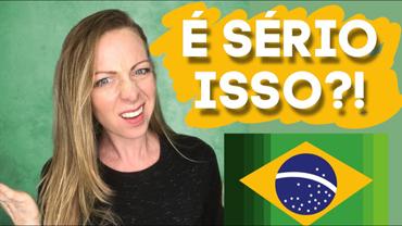 10 coisas que chocaram uma gringa (dos EUA) no Brasil!