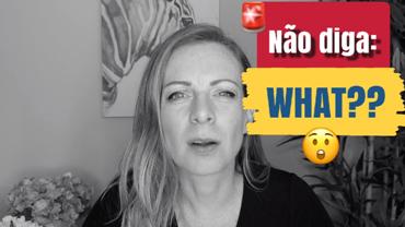 """8 formas comuns de dizer """"Não entendi"""" em inglês"""